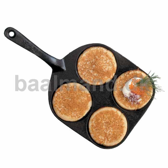 Pande til små pandekager i støbejern